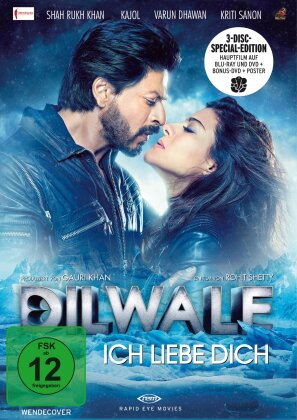 Dilwale - Ich liebe Dich (2015) (Limited Edition, Blu-ray + 2 DVDs)