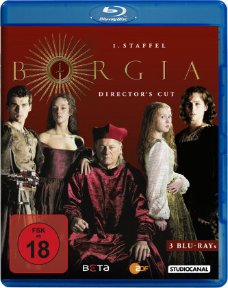 Borgia - Staffel 1 (Director's Cut, 3 Blu-rays)