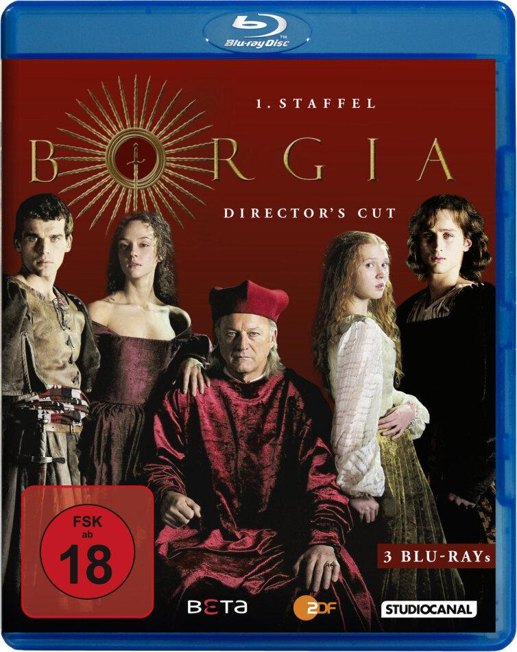 Borgia - Staffel 1 (Director's Cut, 3 Blu-rays)