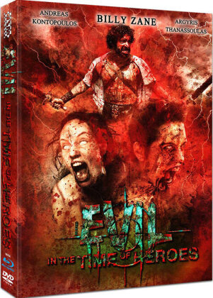 Evil - In the Time of Heroes (2009) (Cover A, Mediabook, Uncut, Blu-ray + DVD)