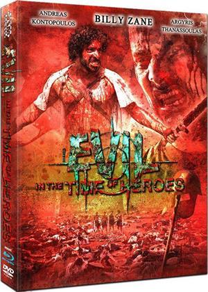 Evil - In the Time of Heroes (2009) (Cover C, Mediabook, Uncut, Blu-ray + DVD)