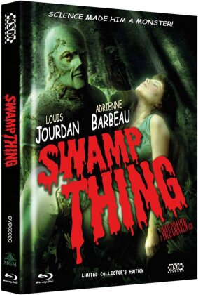 Swamp Thing (1982) (Cover C, Collector's Edition, Limited Edition, Uncut, Mediabook, Blu-ray + DVD)