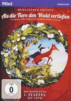 Als die Tiere den Wald verliessen - Staffel 1 (Pidax Animation, Remastered, 2 DVDs)