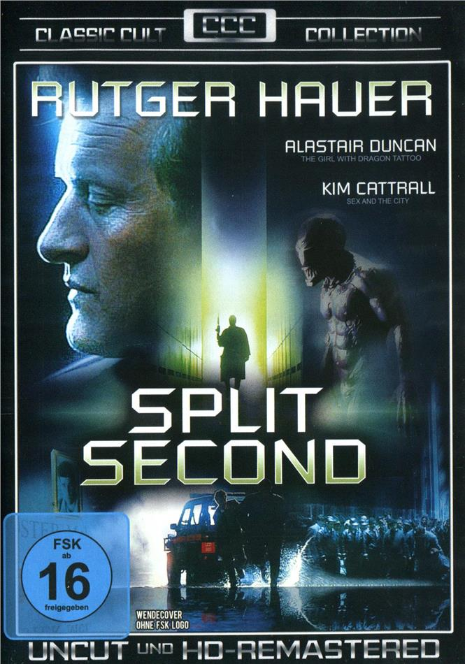 Split Second (1992) (Classic Cult Collection, Remastered, Uncut)