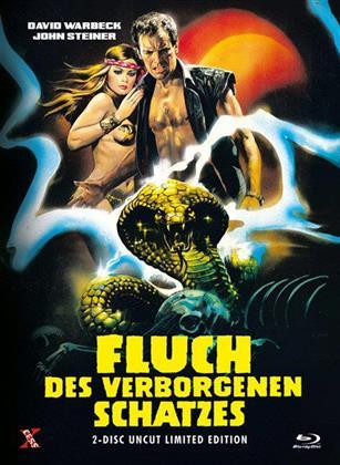 Fluch des verborgenen Schatzes (1982) (Cover B, Limited Edition, Mediabook, Uncut, Blu-ray + DVD)