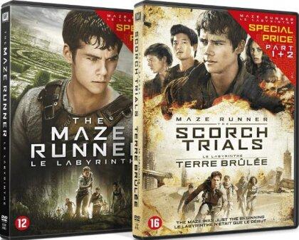The Maze Runner - Le Labyrinthe / The Maze Runner 2 - Le Labyrinthe: La Terre Brûlée (2 DVDs)