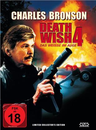 Death Wish 4 - Das Weisse im Auge (1987) (Cover A, Limited Collector's Edition, Mediabook, Blu-ray + DVD)