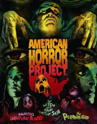 American Horror Project - Vol. 1 (Special Edition, 3 Blu-rays + 3 DVDs)