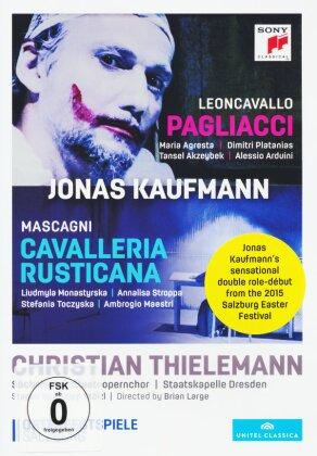 Sächsische Staatskapelle Dresden, Christian Thielemann, … - Leoncavallo - I Pagliacci / Mascagni - Cavalleria Rusticana (Sony Classical, Unitel Classica, 2 DVDs)