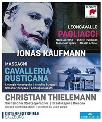 Sächsische Staatskapelle Dresden, Christian Thielemann, … - Leoncavallo - I Pagliacci / Mascagni - Cavalleria Rusticana (Sony Classical)