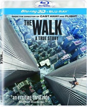 The Walk (2015) (Blu-ray 3D (+2D) + Blu-ray)
