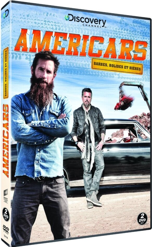 Americars - Barbes, Bolides et Bières (Discovery Channel, 2 DVDs)
