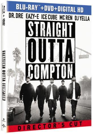 Straight Outta Compton (2015) (Blu-ray + DVD)