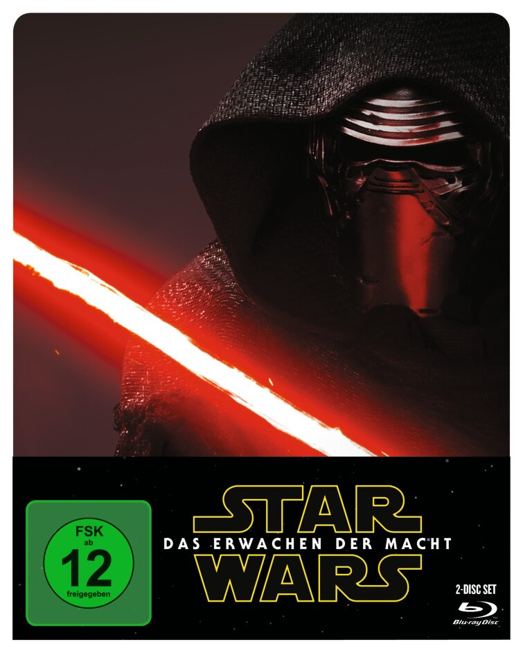 Star Wars - Episode 7 - Das Erwachen der Macht (2015) (Limited Edition, Steelbook, 2 Blu-rays)