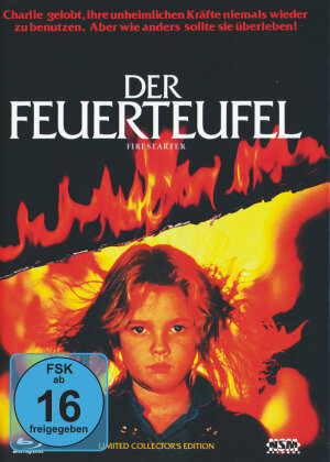 Der Feuerteufel (1984) (Cover B, Limited Collector's Edition, Mediabook, Blu-ray + DVD)