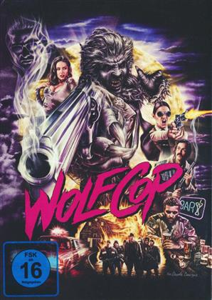 Wolfcop (2014) (Cover B, Limited Edition, Mediabook, Blu-ray + DVD)