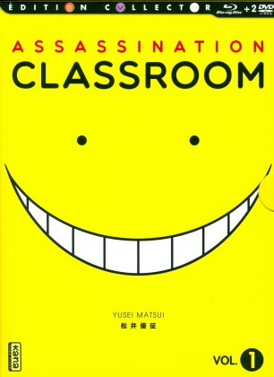 Assassination Classroom - Vol. 1 (Saison 1.1) (Collector's Edition, Blu-ray + 2 DVDs)