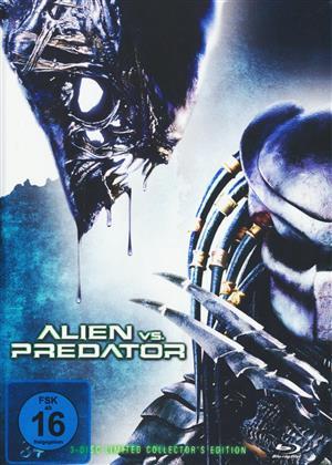 Alien vs. Predator (2004) (Cover A, Collector's Edition, Extended Edition, Versione Cinema, Edizione Limitata, Mediabook, Blu-ray + 2 DVD)