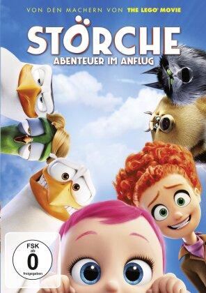Störche - Abenteuer im Anflug (2016)