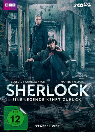 Sherlock - Staffel 4 (BBC, 2 DVD)