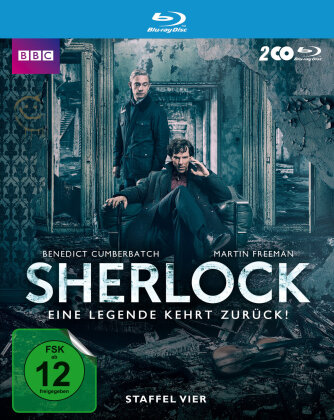 Sherlock - Staffel 4 (BBC, 2 Blu-rays)