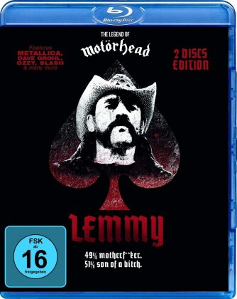 Lemmy Kilmister - Lemmy (Black Edition, 2 Blu-rays)