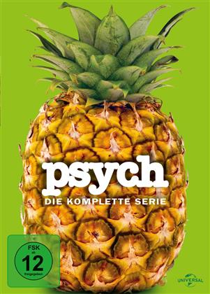 Psych - Die komplette Serie (Limited Edition, 31 DVDs)