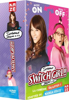 Switch Girl!! - Intégrale Saisons 1+2 (4 DVDs)