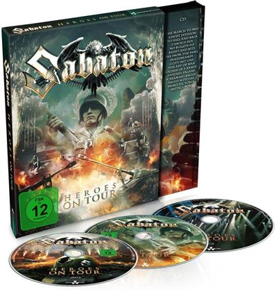 Sabaton - Heroes on Tour (Mediabook, 2 DVDs + CD)