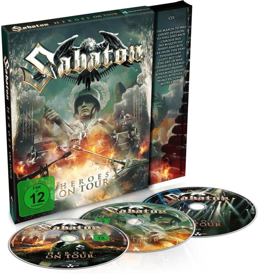 Sabaton - Heroes on Tour (Mediabook, 2 DVDs + CD)