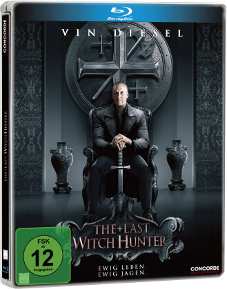 The Last Witch Hunter (2015) (Limited Edition, Steelbook)