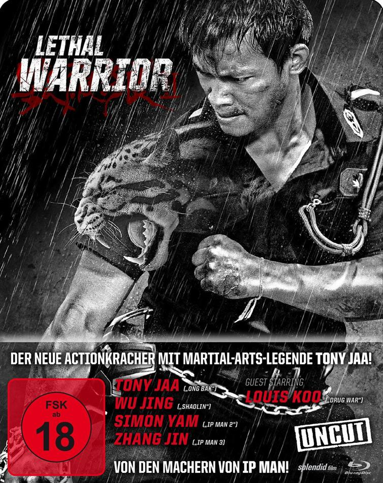 Lethal Warrior (2015) (Steelbook, Uncut)