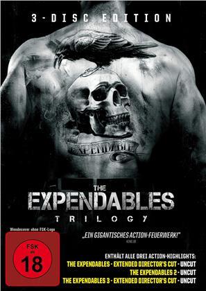 The Expendables Trilogy (Uncut, 3 DVDs)
