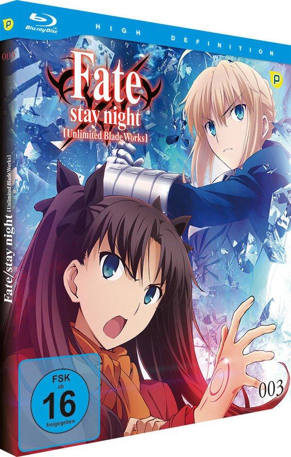 Fate/Stay Night: Unlimited Blade Works - Vol. 3 - Staffel 2.1 (Limited Edition, Blu-ray + CD)