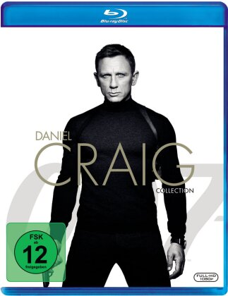 James Bond - Daniel Craig Collection (4 Blu-rays)