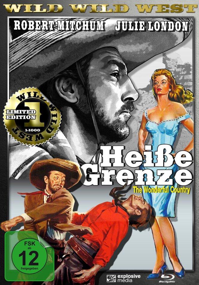 Heisse Grenze (1959) (Wild Wild West, Limited Edition, Blu-ray + DVD)