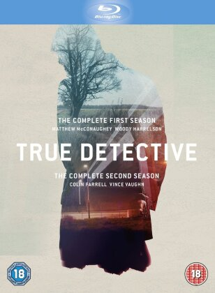 True Detective - Seasons 1+2 (6 Blu-rays)