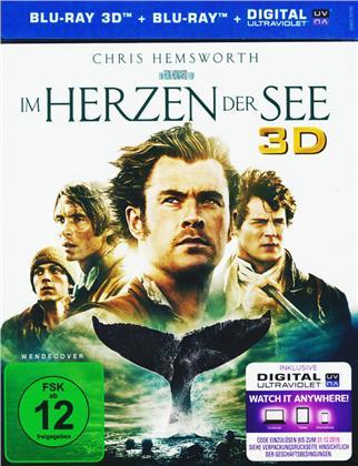Im Herzen der See (2015) (Blu-ray 3D + Blu-ray)