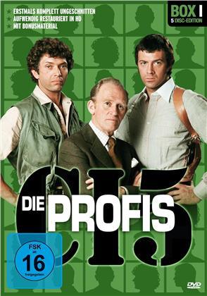 Die Profis - Box 1 (Restaurierte Fassung, Uncut, 5 DVDs)