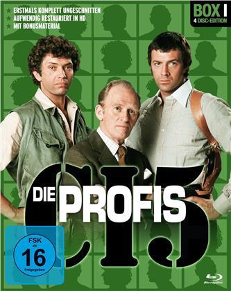 Die Profis - Box 1 (Restaurierte Fassung, Uncut, 4 Blu-rays)