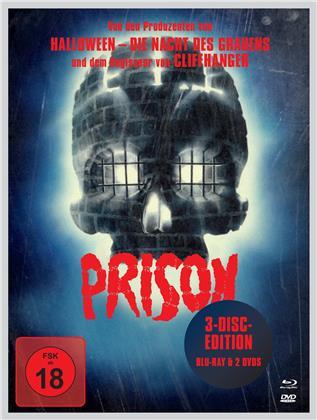 Prison - Rückkehr aus der Hölle (1987) (Mediabook, Blu-ray + 2 DVDs)