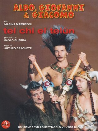 Aldo, Giovanni & Giacomo - Tel chi el telùn (2000) (2 DVDs)