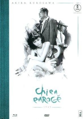 Chien enragé (1949) (Collection Akira Kurosawa - Les années Tōhō, s/w, Mediabook, Blu-ray + DVD)