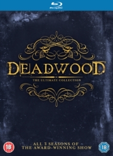 Deadwood - The Ultimate Collection - Seasons 1-3 (9 Blu-rays)
