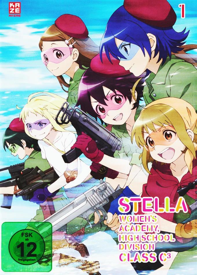 Stella Women's Academy - High School Division Class C3 - Vol. 1 (Digibook)