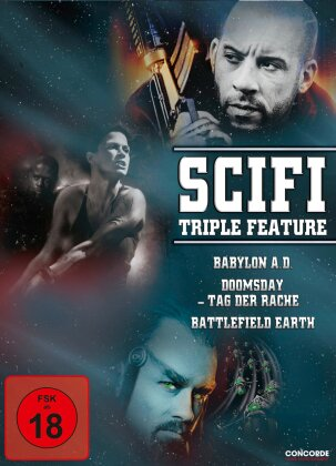 Scifi Triple Feature (3 DVDs)