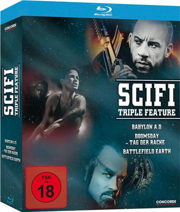 Scifi Triple Feature (3 Blu-rays)
