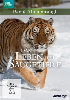 Das Leben der Säugetiere (BBC Earth, 4 DVD)