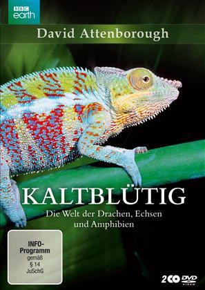 Kaltblütig - Die Welt der Drachen, Echsen und Amphibien (BBC Earth, 2 DVD)