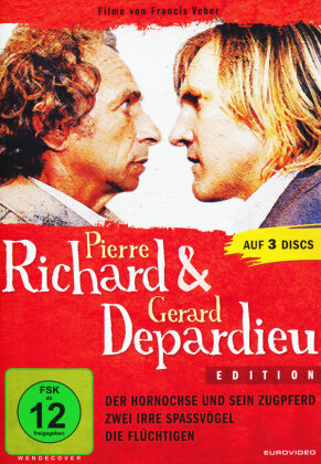 Pierre Richard & Gérard Depardieu Edition (3 DVDs)